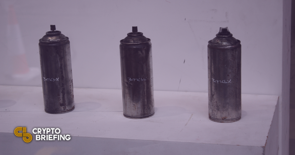 Obra de arte original de Banksy quemada, tokenizada como NFT en Ethereum