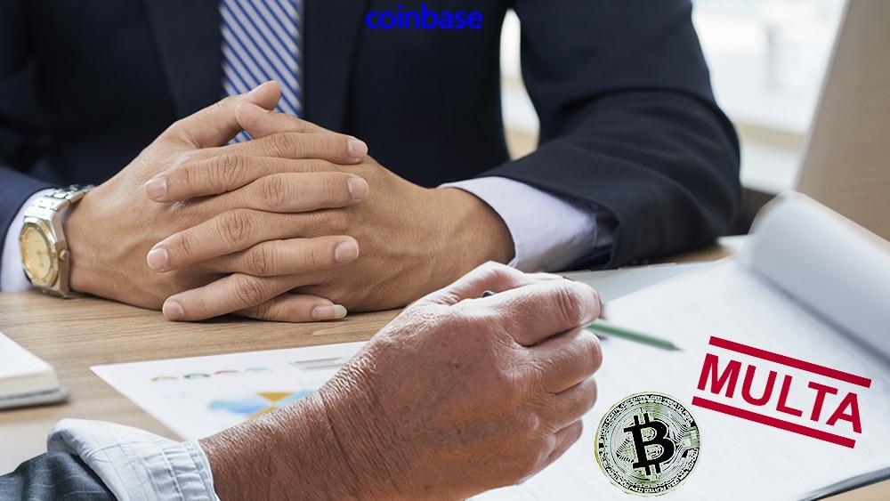 Coinbase es multada con USD 6 millones por operaciones engañosas con bitcoin