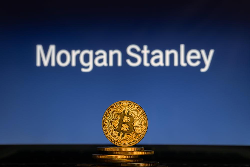 Morgan Stanley apunta a la adquisición de Bitcoin Exchange después de que las criptomonedas se recuperen en un 1,500%