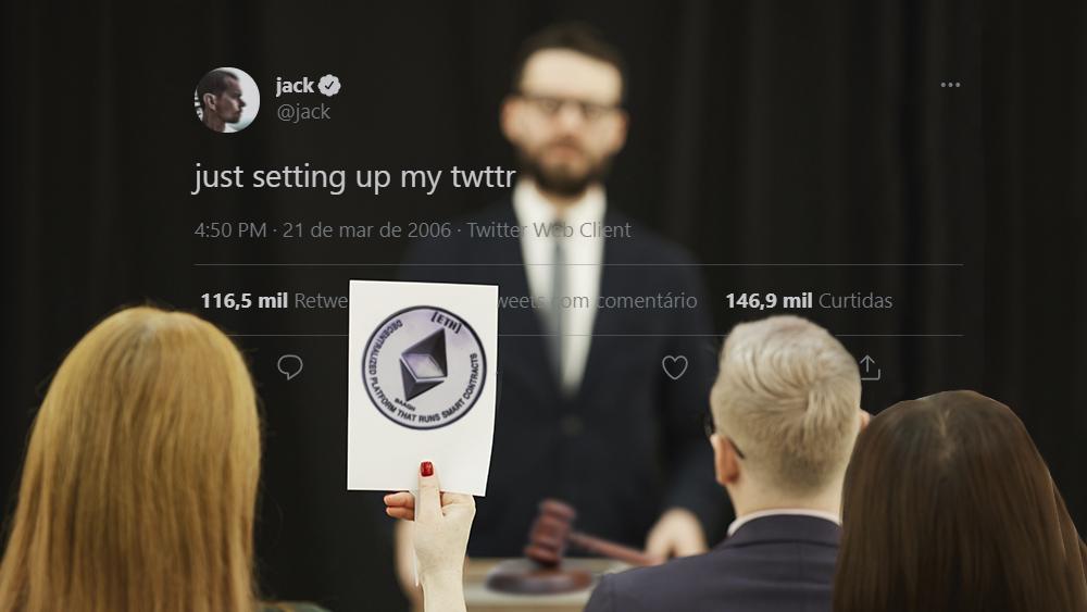 NFT del primer tweet de Jack Dorsey alcanza la cifra de 2 millones de dólares en subasta