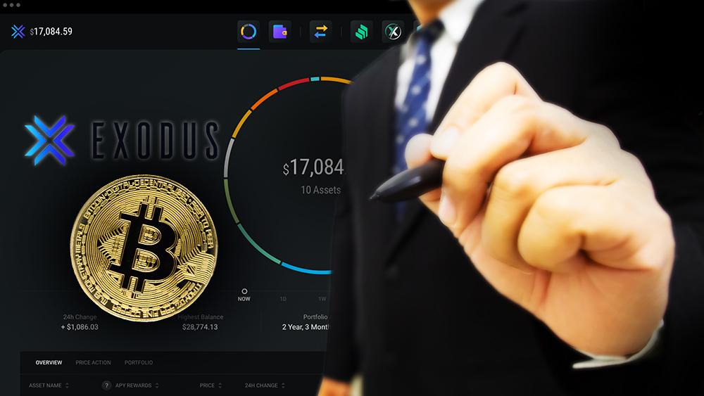Acciones de Exodus Wallet podrían comprarse a través de su cartera de bitcoin