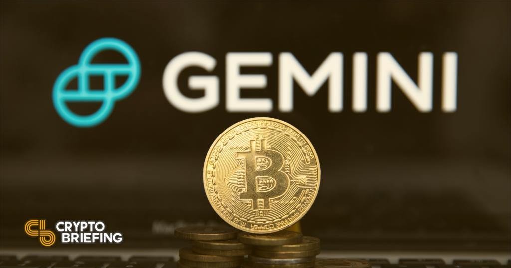 Gemini lanza un nuevo servicio para proveedores de ETF de Bitcoin