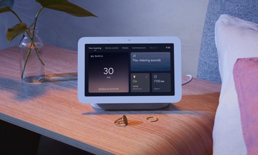 Google Nest Hub será capaz de realizar seguimiento del sueño