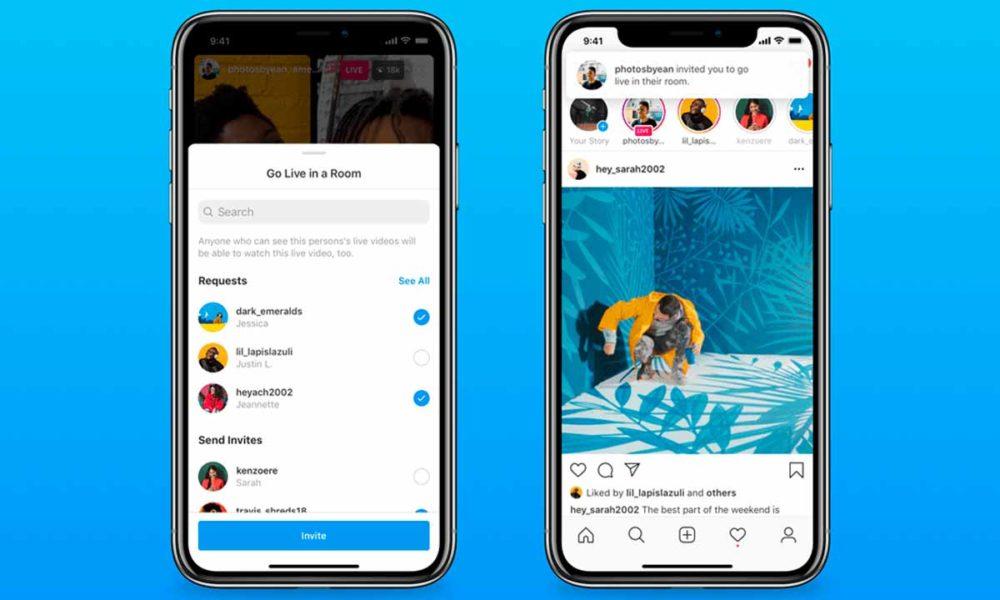 Instagram permitirá hacer directos de hasta cuatro usuarios
