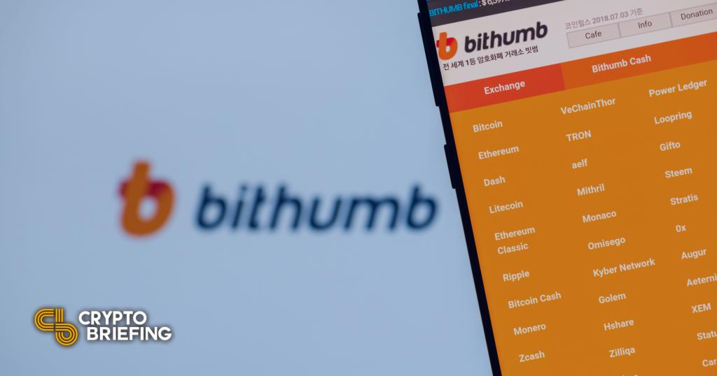 Morgan Stanley hace una oferta por el intercambio de cifrado de Corea del Sur Bithumb