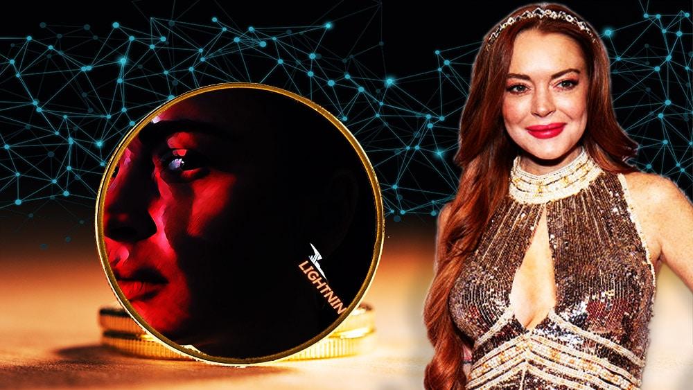 Lyndsay Lohan destina fondos de sus NFT para fomentar el uso de bitcoin entre los jóvenes