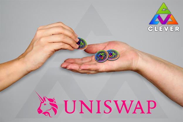 Clever DeFi enumera el token CLVA en Uniswap