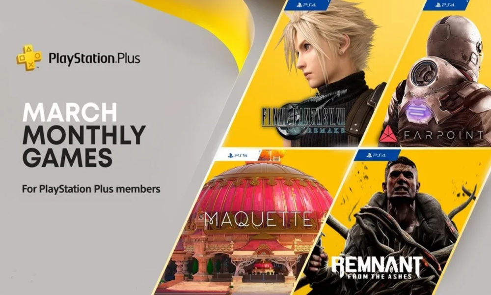 Final Fantasy VII Remake estará gratis este mes en PS Plus