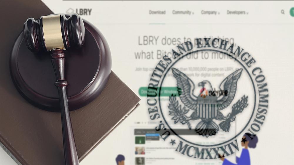 La SEC demanda a la plataforma LBRY por más de USD 11 millones