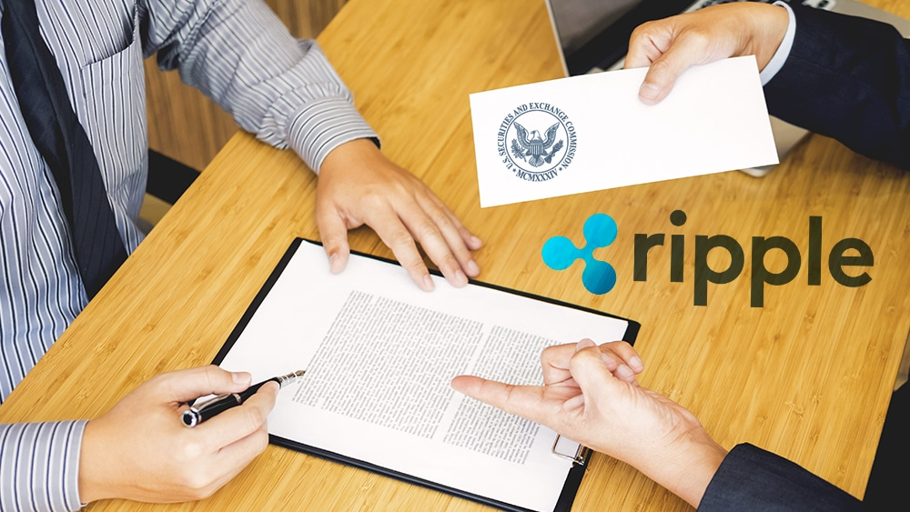 CEO de Ripple presenta carta para desestimar la demanda de la SEC en su contra