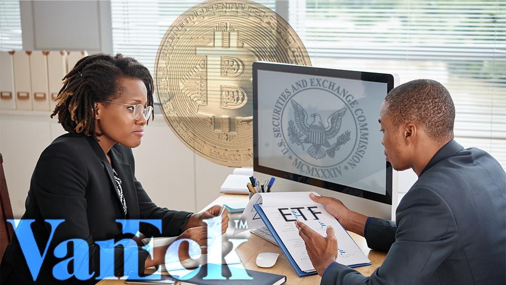 SEC admite solicitud de VanEck para el lanzamiento de un ETF de bitcoin