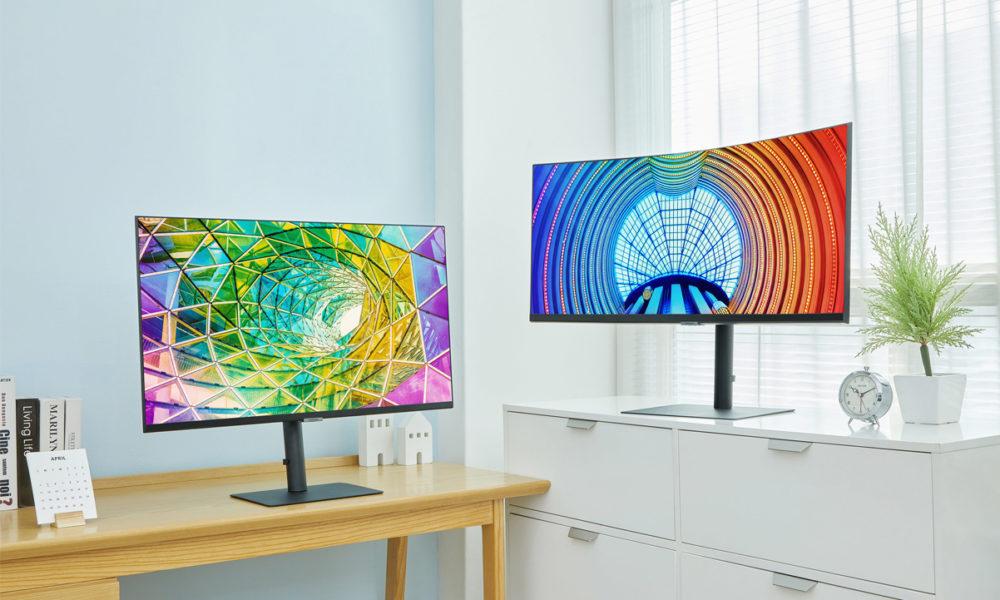 Samsung actualiza su línea de monitores de alta resolución
