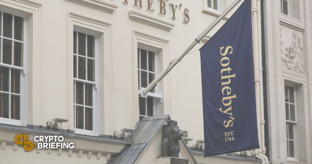 Sotheby's anuncia próxima venta con NFT Artist Pak