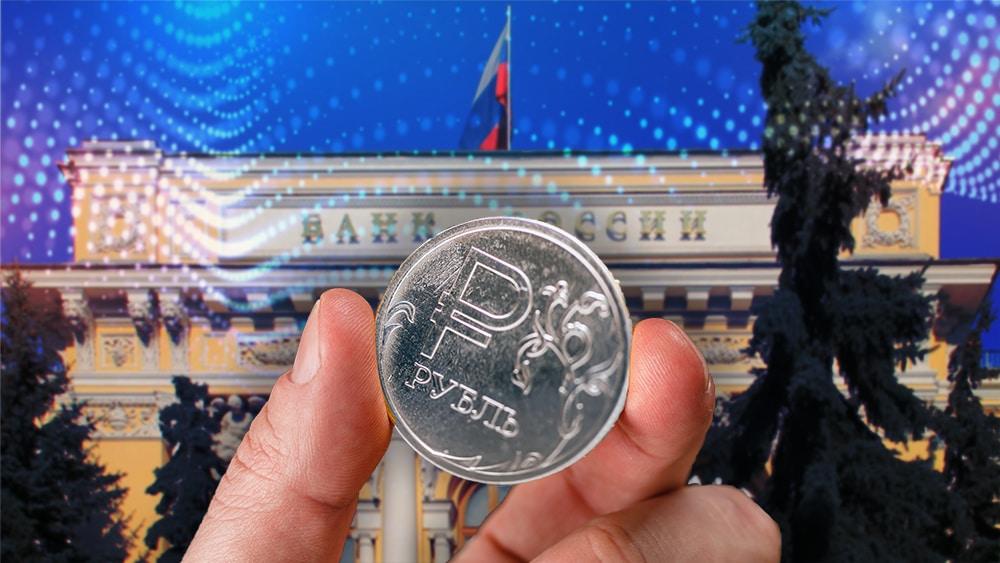 Banco de Rusia iniciará pruebas con el rublo digital en 2022