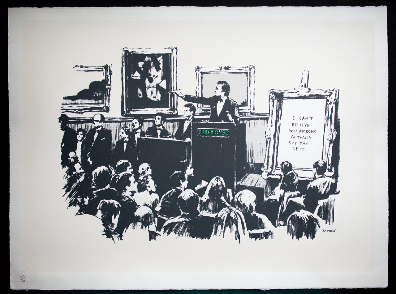 Ethereum NFT de la pieza de Banksy quemada se vende por $ 380,000