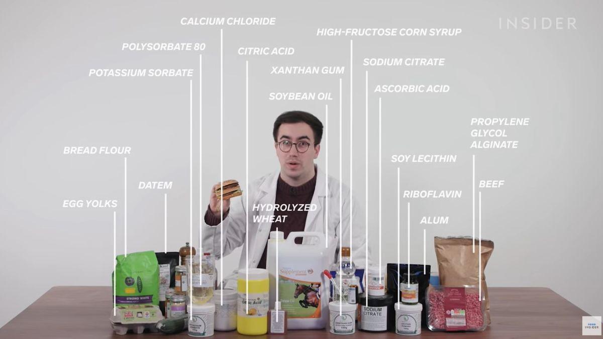 Estos son los 54 ingredientes de un Big Mac de McDonalds