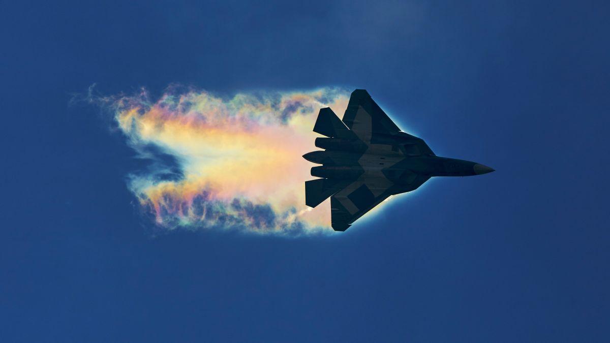 El terrorífico grito del caza ruso Su-57 en pleno vuelo