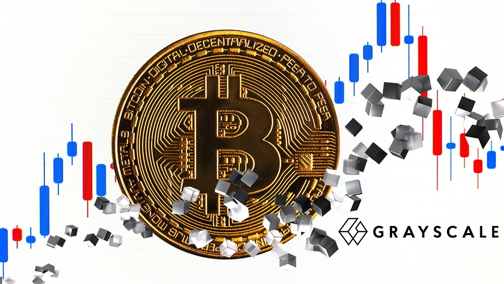 Acciones del fondo de bitcoin de Grayscale se comercian con descuento de hasta 12%