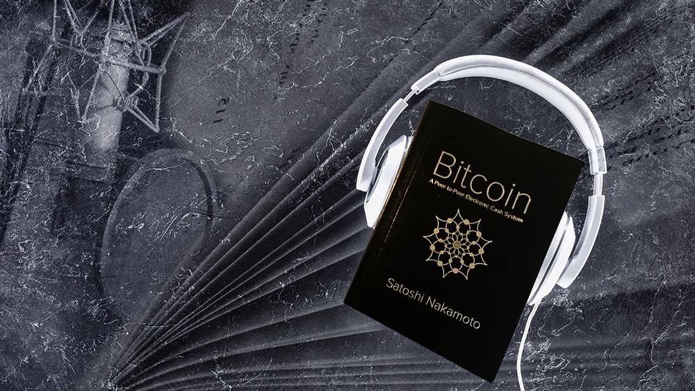 el papel blanco de Bitcoin es narrado por la comunidad