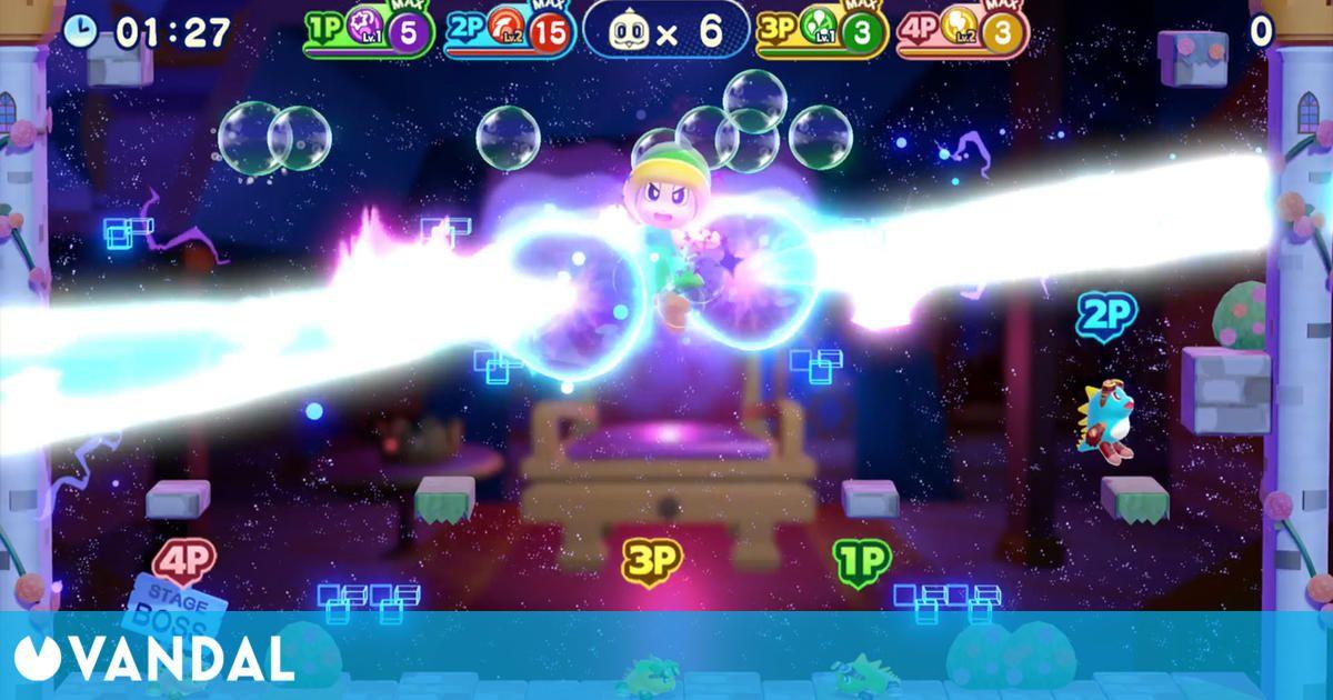 Bubble Bobble 4 Friends también llegará a PC a través de Steam