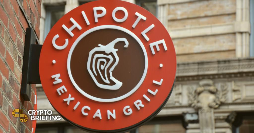Chipotle ejecutará un sorteo de $ 100,000 Bitcoin y Burrito