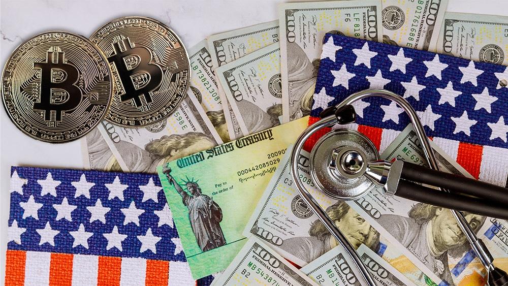 Más de 40.000 millones de dólares en auxilios de EE. UU. irían a bitcoin y acciones