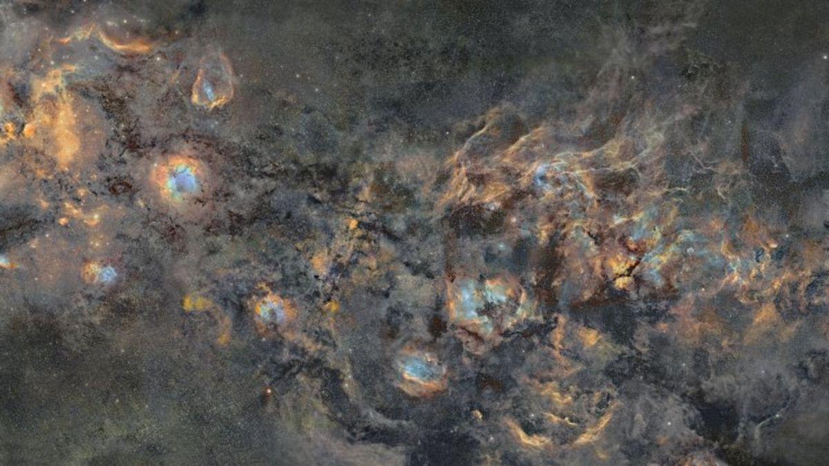 Un fotógrafo pasa 12 años exponiendo una foto de la Vía Láctea