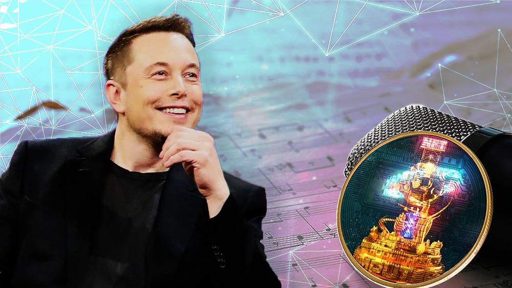 Elon Musk produce una canción acerca de los NFT y la vende en formato NFT