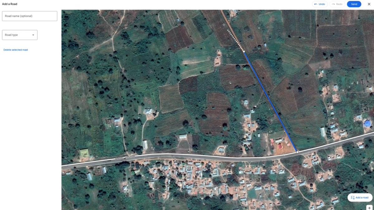 Google Maps permitirá a los usuarios trazar carreteras que faltan y corregir otros fallos