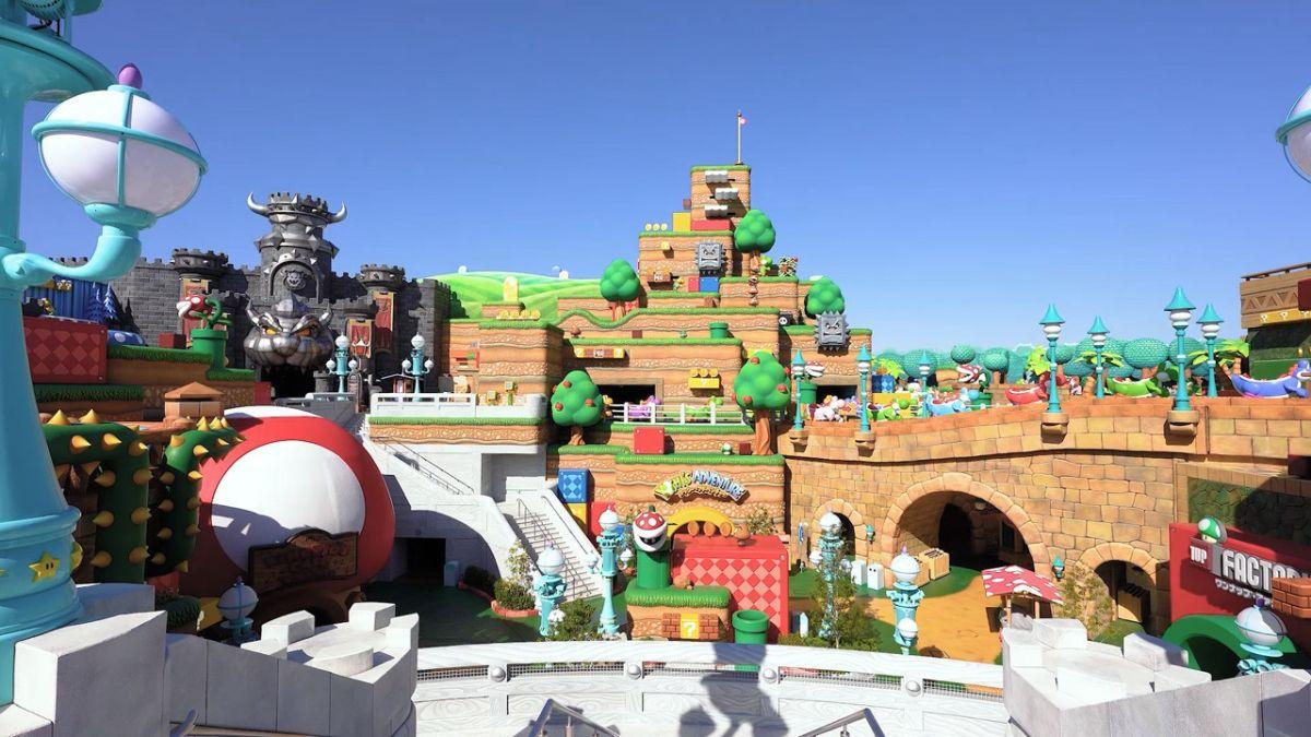 El espectacular parque temático de Nintendo abre sus puertas en Japón