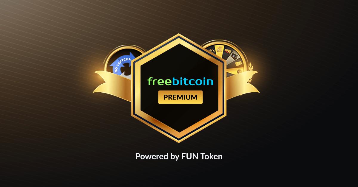 La plataforma de juegos Bitcoin FreeBitco.in lanza la membresía premium FUN con token