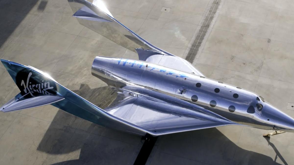 Virgin Galactic muestra la primera nave SpaceShip III