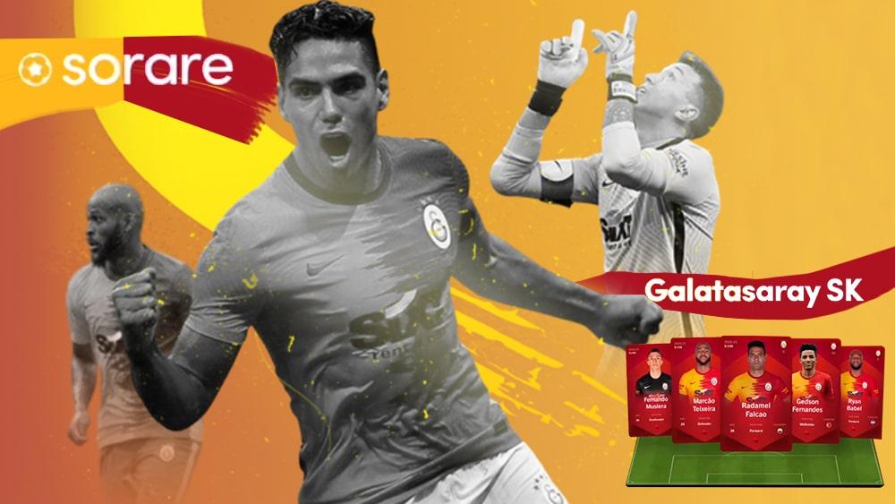 Colombiano Radamel Falcao llega al fútbol fantasy con los NFT del club Galatasaray