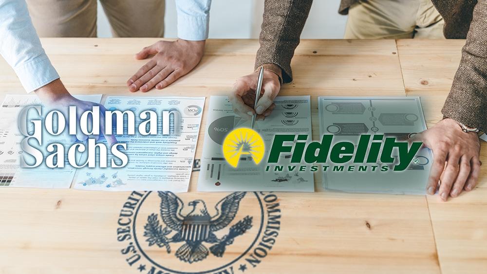 Goldman Sachs y Fidelity solicitan a la SEC permisos para lanzar ETF de bitcoin