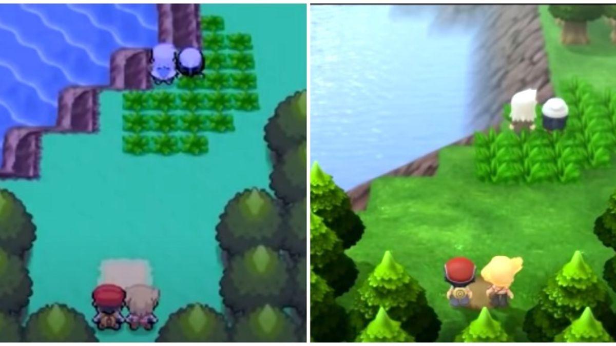 Pokémon Diamante y Perla para Switch y el juego DS