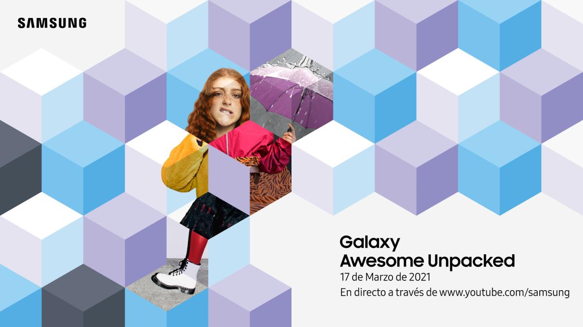 Qué esperar del evento 'Galaxy Awesome Unpacked' de Samsung