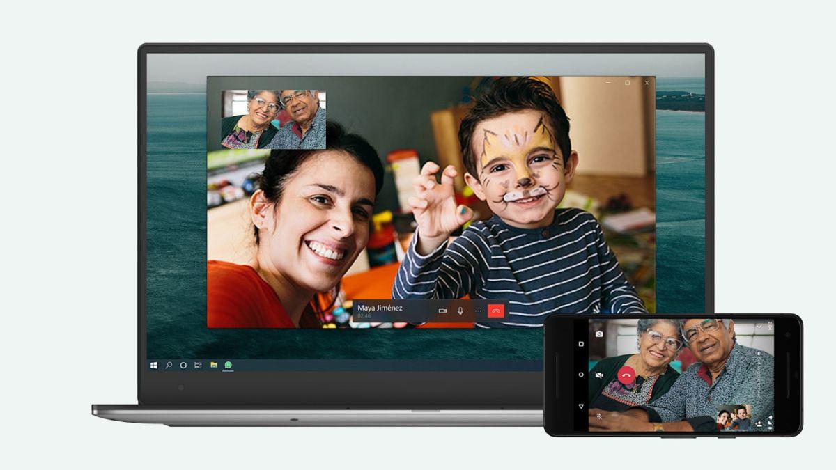 La app de WhatsApp para PC y Mac ya puede hacer videollamadas
