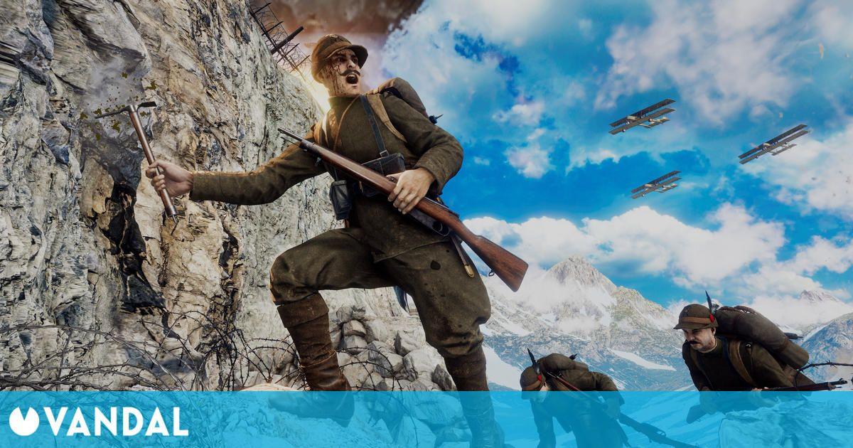 Isonzo, el nuevo FPS de los creadores de Tannenberg y Verdun, llega a PC y consolas en 2021