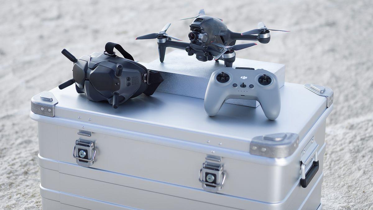 DJI FPV, así es el primer dron de carreras de DJI