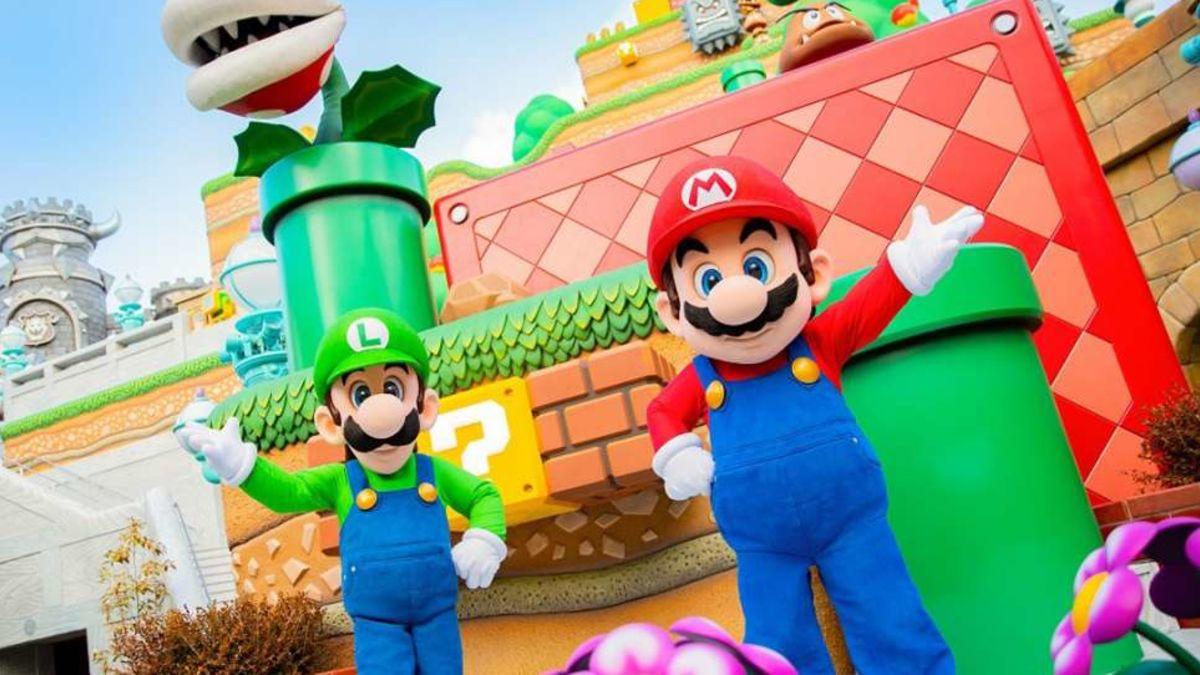 Super Nintendo World finalmente abrió en Japón