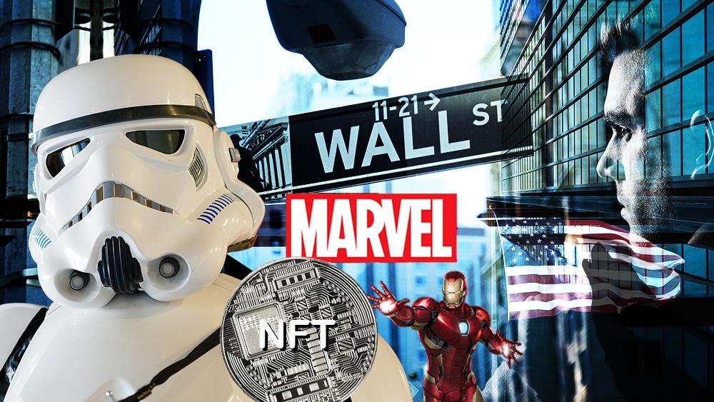 Personajes de Star Wars, Marvel y el Lobo de Wall Street también tendrán sus NFT