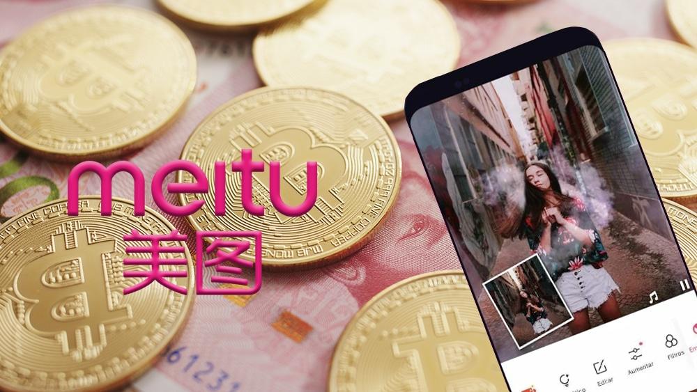 Empresa china de aplicaciones móviles Meitu compra USD 40 millones en bitcoin y ether