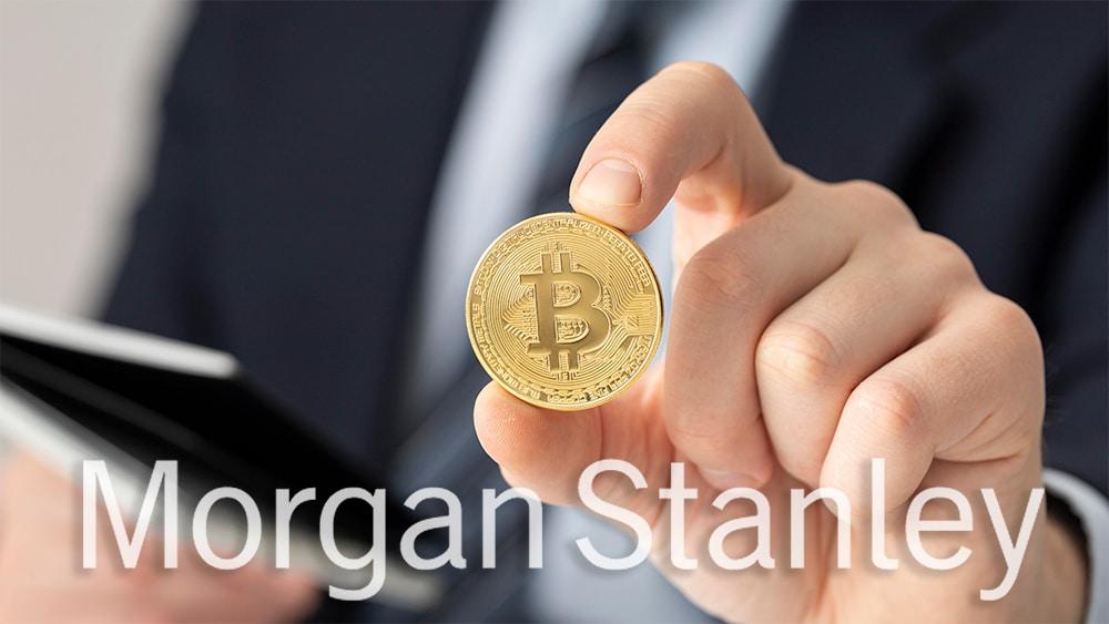 El banco de EE. UU. Morgan Stanley ahora ofrece bitcoin a sus clientes