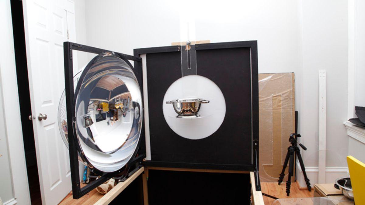 Una solución al problema de los reflejos en objetos brillantes
