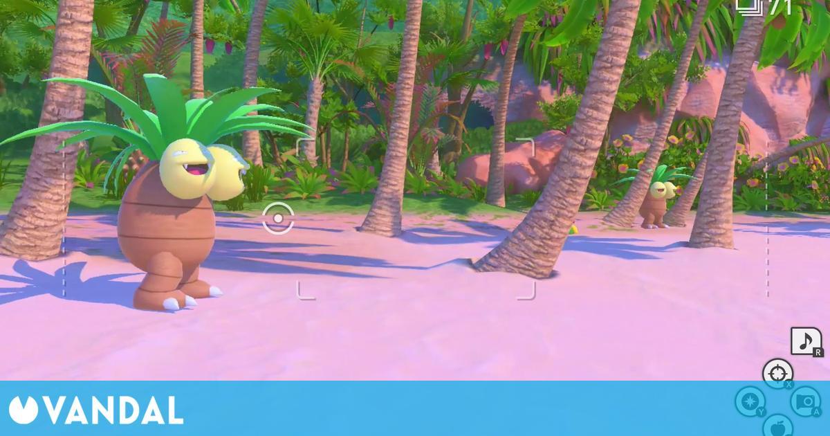 New Pokémon Snap desvela más detalles: giroscopio, voces en las escenas y más