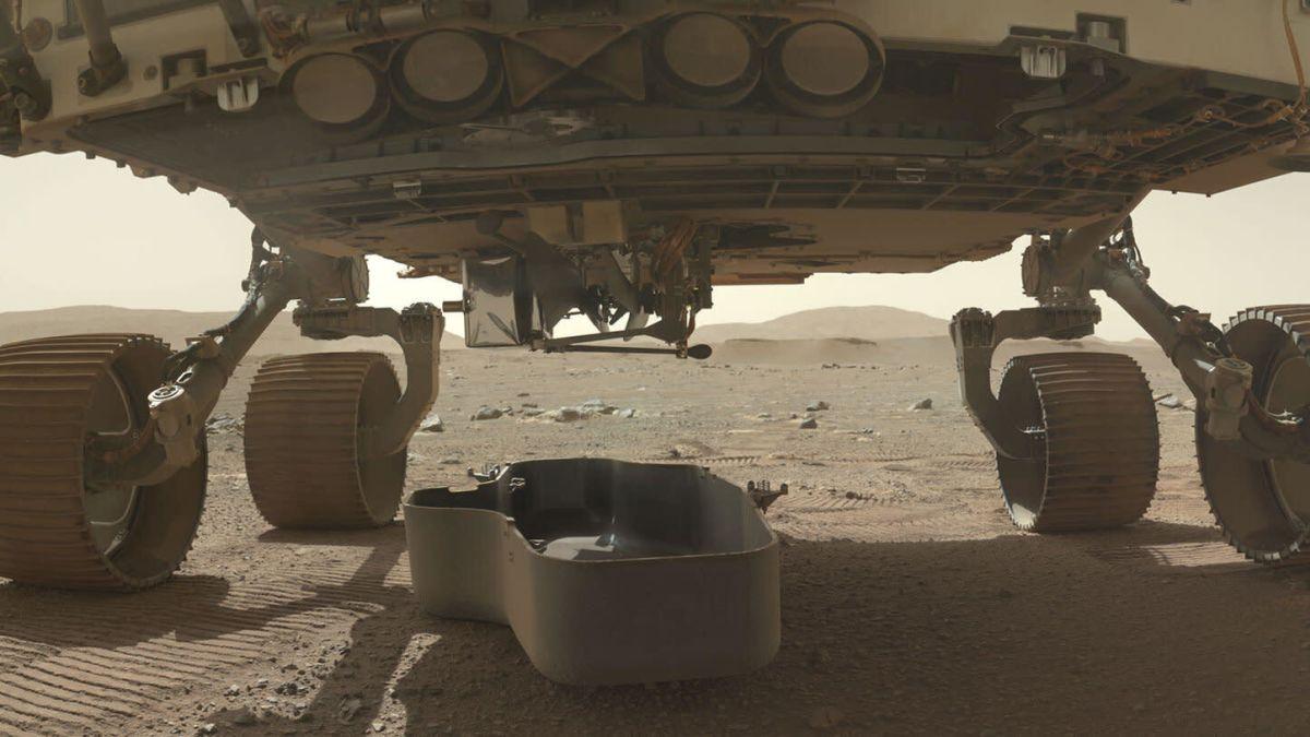 El dron que la NASA volará en Marte lleva un trozo de tela del avión de los hermanos Wright