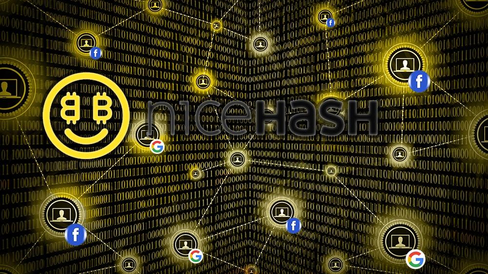 NiceHash ahora comparte los datos de sus usuarios con Facebook y Google