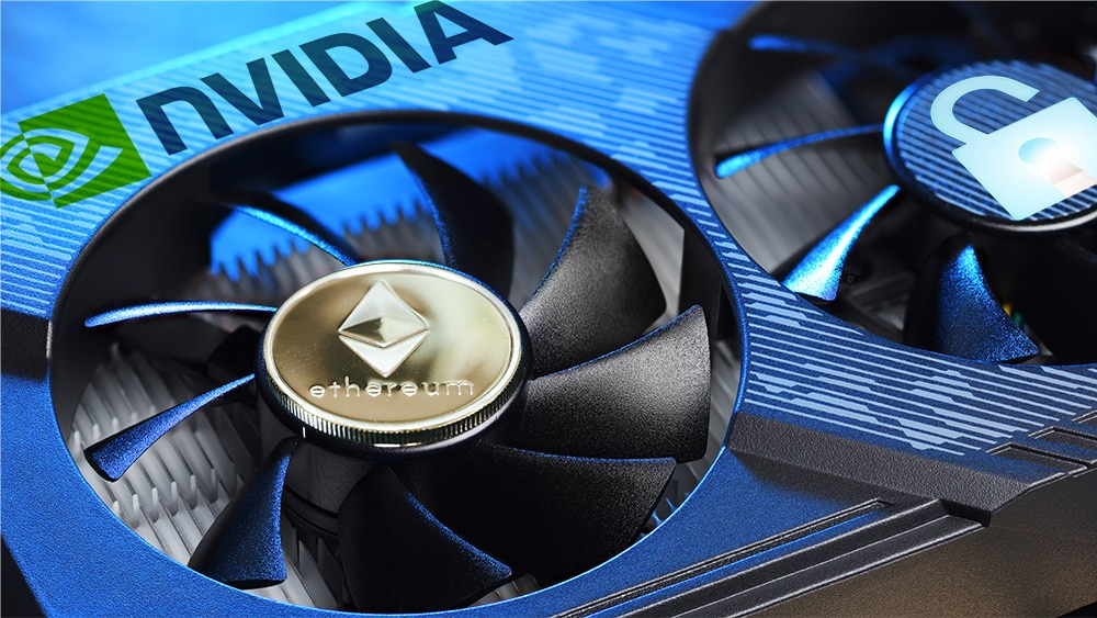 Nvidia desbloquea por accidente sus límites a la minería de Ethereum en nueva tarjeta GPU