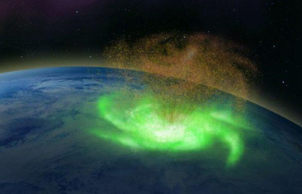 Descubren el primer huracán espacial sobre el Polo Norte