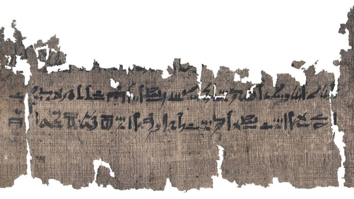 Encuentran un antiguo y detallado manual de momificación